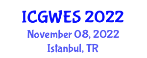 International Conference on Global Warming and Earth Science (ICGWES) November 08, 2022 - Istanbul, Turkey