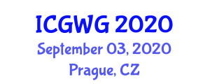 International Conference on Global Warming and Glaciology (ICGWG) September 03, 2020 - Prague, Czechia