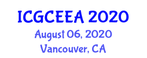 International Conference on Graphene Chemistry, Electrochemistry and Engineering Applications (ICGCEEA) August 06, 2020 - Vancouver, Canada