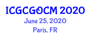 International Conference on Graphene Chemistry, Graphene Oxide and Chemical Modification (ICGCGOCM) June 25, 2020 - Paris, France
