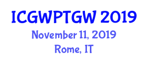 International Conference on Gravitational Wave Physics and Theory of Gravitational Waves (ICGWPTGW) November 11, 2019 - Rome, Italy