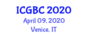 International Conference on Green-Belt Cities (ICGBC) April 09, 2020 - Venice, Italy