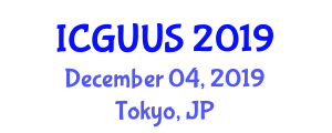International Conference on Green Urbanism and Urban Sustainability (ICGUUS) December 04, 2019 - Tokyo, Japan