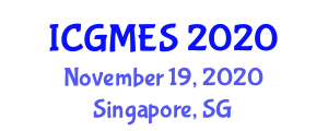 International Conference on Ground Motion and Engineering Seismology (ICGMES) November 19, 2020 - Singapore, Singapore