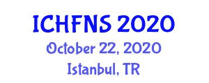International Conference on Halal Food and Nutrition Sciences (ICHFNS) October 22, 2020 - Istanbul, Turkey