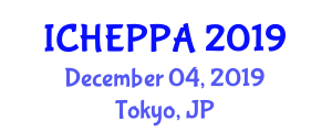 International Conference on High Energy Particle Physics and Astrophysics (ICHEPPA) December 04, 2019 - Tokyo, Japan