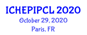 International Conference on High Energy Physics, Invariance Principles and Conservation Laws (ICHEPIPCL) October 29, 2020 - Paris, France