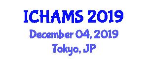 International Conference on Highway Asset Management System (ICHAMS) December 04, 2019 - Tokyo, Japan