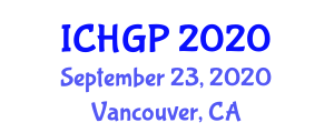 International Conference on Historical Geology and Paleogeography (ICHGP) September 23, 2020 - Vancouver, Canada