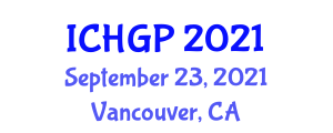 International Conference on Historical Geology and Paleogeography (ICHGP) September 23, 2021 - Vancouver, Canada