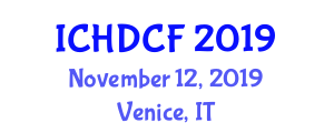 International Conference on History and Development of Canned Food (ICHDCF) November 12, 2019 - Venice, Italy