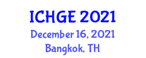 International Conference on History and Geography of Europe (ICHGE) December 16, 2021 - Bangkok, Thailand