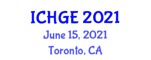 International Conference on History and Geography of Europe (ICHGE) June 15, 2021 - Toronto, Canada