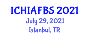 International Conference on Hospitality Industry, Accommodation, Food and Beverage Sector (ICHIAFBS) July 29, 2021 - Istanbul, Turkey