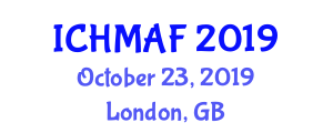 International Conference on Hospitality Managerial Accounting and Finance (ICHMAF) October 23, 2019 - London, United Kingdom