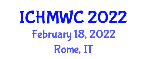 International Conference on Hotel Management and Working Conditions (ICHMWC) February 18, 2022 - Rome, Italy