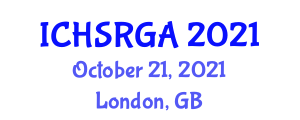 International Conference on Household Service Robotics and Grasping Algorithms (ICHSRGA) October 21, 2021 - London, United Kingdom