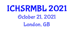 International Conference on Household Service Robotics, Map Building and Localization (ICHSRMBL) October 21, 2021 - London, United Kingdom