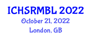 International Conference on Household Service Robotics, Map Building and Localization (ICHSRMBL) October 21, 2022 - London, United Kingdom