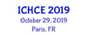 International Conference on Human and Computer Engineering (ICHCE) October 29, 2019 - Paris, France