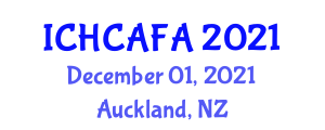 International Conference on Human Centered Actuators and Finger Actuators (ICHCAFA) December 01, 2021 - Auckland, New Zealand