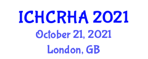 International Conference on Human-Centered Robotics and Human Augmentation (ICHCRHA) October 21, 2021 - London, United Kingdom
