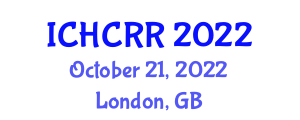 International Conference on Human-Centered Robotics and Research (ICHCRR) October 21, 2022 - London, United Kingdom