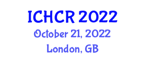 International Conference on Human-Centered Robotics (ICHCR) October 21, 2022 - London, United Kingdom