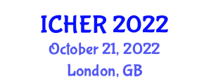 International Conference on Human Enhancement and Robotics (ICHER) October 21, 2022 - London, United Kingdom