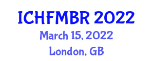 International Conference on Human-Friendly Mechatronics and Bio-Robotics (ICHFMBR) March 15, 2022 - London, United Kingdom