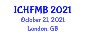 International Conference on Human Friendly Mechatronics and Biorobotics (ICHFMB) October 21, 2021 - London, United Kingdom