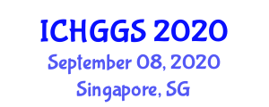 International Conference on Human Geography and Geographical Sciences (ICHGGS) September 08, 2020 - Singapore, Singapore