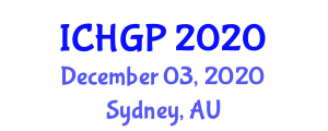 International Conference on Human Geography and Planning (ICHGP) December 03, 2020 - Sydney, Australia