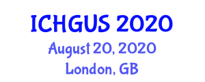 International Conference on Human Geography and Urban Studies (ICHGUS) August 20, 2020 - London, United Kingdom