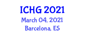 International Conference on Human Geography (ICHG) March 04, 2021 - Barcelona, Spain