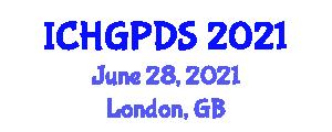 International Conference on Human Geography, Planning and Development Studies (ICHGPDS) June 28, 2021 - London, United Kingdom