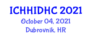International Conference on Human Health Implications of Droughts and Hydrological Cycle (ICHHIDHC) October 04, 2021 - Dubrovnik, Croatia