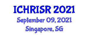 International Conference on Human-Robot Interaction and Social Robotics (ICHRISR) September 09, 2021 - Singapore, Singapore