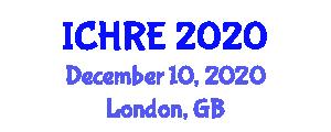 International Conference on Human Robotic Enhancement (ICHRE) December 10, 2020 - London, United Kingdom
