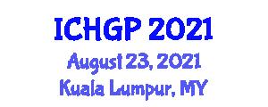 International Conference on Humanistic and General Psychology (ICHGP) August 23, 2021 - Kuala Lumpur, Malaysia