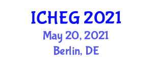 International Conference on Humanities, Economics and Geography (ICHEG) May 20, 2021 - Berlin, Germany