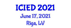 International Conference on Image Encryption and Decryption (ICIED) June 17, 2021 - Riga, Latvia