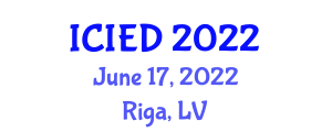 International Conference on Image Encryption and Decryption (ICIED) June 17, 2022 - Riga, Latvia