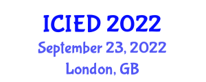 International Conference on Image Encryption and Decryption (ICIED) September 23, 2022 - London, United Kingdom