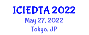 International Conference on Image Encryption and Decryption Techniques and Algorithms (ICIEDTA) May 27, 2022 - Tokyo, Japan