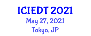 International Conference on Image Encryption and Decryption Techniques (ICIEDT) May 27, 2021 - Tokyo, Japan