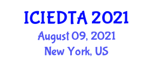 International Conference on Image Encryption and Decryption Technologies and Algorithms (ICIEDTA) August 09, 2021 - New York, United States