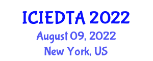 International Conference on Image Encryption and Decryption Technologies and Algorithms (ICIEDTA) August 09, 2022 - New York, United States