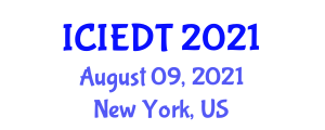 International Conference on Image Encryption and Decryption Technologies (ICIEDT) August 09, 2021 - New York, United States