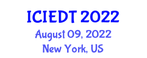 International Conference on Image Encryption and Decryption Technologies (ICIEDT) August 09, 2022 - New York, United States